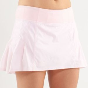 lululemon Run in the sun skirt pink blush quartz